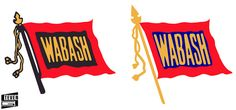 Wabash Logos by Steven.g, via Flickr