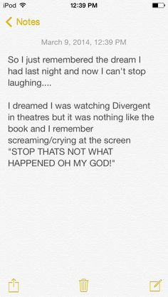 Just thought y'all should know about my dream last night, LOL! I can't stop laughing now XD