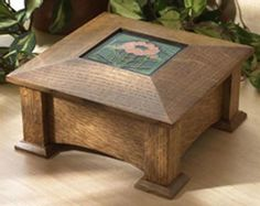 Tile-Topped Keepsake Box Woodworking Plan from WOOD Magazine