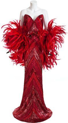 Bob Mackie gown!