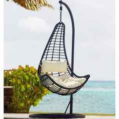Fauteuil suspendu bean swing artie garden chambre sophie pinterest gardens beans and swings for Fauteuil de jardin gifi
