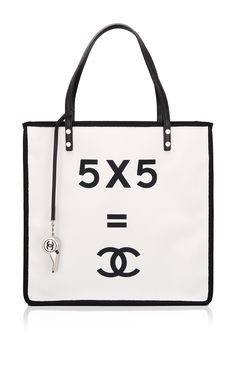 "Runway Edition Chanel ""5 x 5 = CC"" Small Shopping Tote by Madison Avenue Couture"