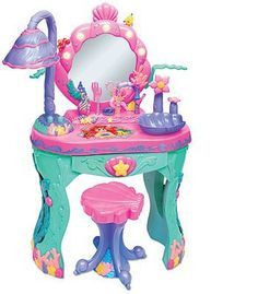 "Amazon.com: Disney Princess Ariel Magical Talking Salon and Interactive Hair Stylist Set ""Ultimate Bundle"": Toys & Games"