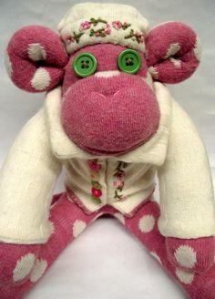Sockamajig Monkey in her finest.