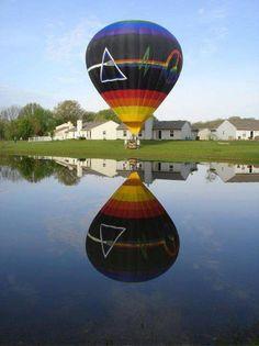 Pink Floyd Hot Air Balloon