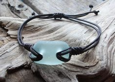 Oh my GOSH!!!! I love this! Scottish Sea Glass Surfers Bracelet Seaglass by byNaturesDesign, $10.00