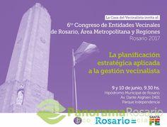 6 to. Congreso de entidades vecinales de Rosario, Área Metropolitana y Regiones