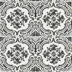 azulejos - oscuro wallpaper | Christian Lacroix