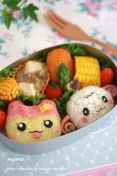 Cute bento box #bento