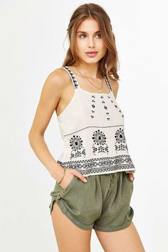 Staring At Stars Soft Roll-Up Short #UrbanOutfitters