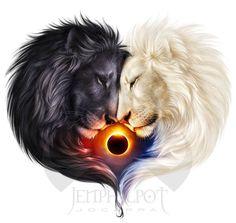 lions art