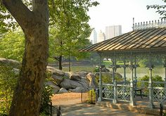 The Ladies' Pavillion in Central Park, New York.  Considering a small elopement style wedding in New York City?  Central Park is filled with lovely and private places for your romantic ceremony, far away from city crowds.  Rev. Jude Smith/Hudson Valley Weddings.  Destination weddings a specialty.  Your place or mine!