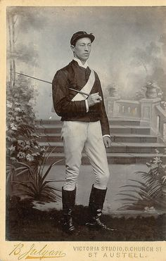 Image result for victorian jockey photo