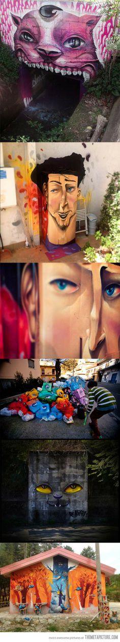 The street art of DMS…