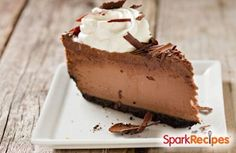 Low Carb Chocolate Cheesecake Recipe by JNORMAN1969 via @SparkPeople