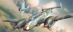 Las Cosicas del Panzer — Bf-110E y I-16