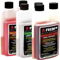 Industry-leading #RBP Professional Grade #DieselTreatment is the most advanced all-in-one diesel fuel additive on the market. No other additive gives you these superior results:  reduced operating costs, improved drivability, reduced combustion noise, and longer component life. #RBPDiesel #DieselAdditive