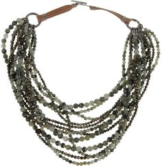 Brunello Cucinelli Green Necklace