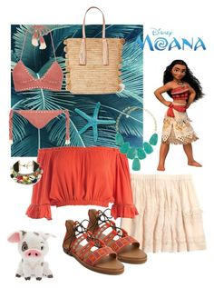 Designer Clothes, Shoes & Bags for Women Disney Bound Outfits Casual, Moana Outfits, Cute Disney Outfits, Disney Dress Up, Cool Outfits, Casual Outfits, Fashion Outfits, Disney Character Outfits, Estilo Disney