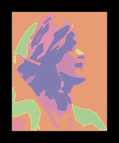 Minimal Girl is a digital painting that can be made into a giclee for you.  Richard Arfsten.  Double click to enlarge.