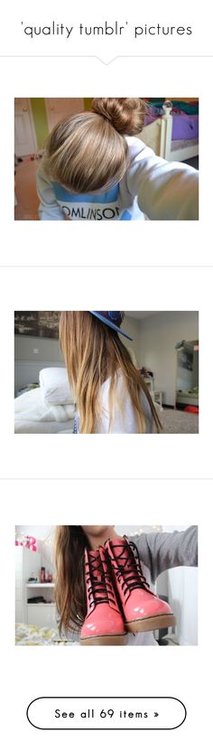 """'quality tumblr' pictures"" by h0ld-0n-let-g0 ❤ liked on Polyvore featuring pictures, hair, photos, pics, blue, - pictures, icon pictures, tip pictures, &+ pictures and pictures - blue"