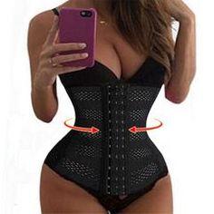 bb7c587759f Womens Body Shaper Tummy Waist Cincher Underbust Corset Shapewear Cloth