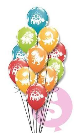 Having a prehistoric party? Then these dinosaur party balloons are just the thing to make any event roar into action. These balloons are great for 1st birthdays
