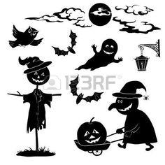Halloween de dibujos animados photo