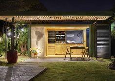 Casa/Barbearia Container 'Casulo' – Casa Cor MG 2015
