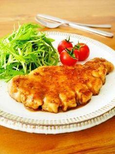 厚切り豚ロースのマスタードソテー♪簡単おいしい豚肉レシピ|レシピブログ