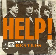 music, 1965 beatl, help album, beatl poster, album cover