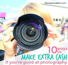 Looking for ways to make extra cash as a photographer? Check out this creative list!