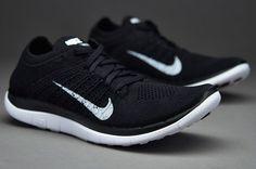 Flyknit White Black Blue Nike 4.0 Women's   nike wmns free 4 0 flyknit black white grey the nike free flyknit 4 0 ...