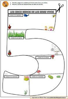 """Mario San Bernardino Martín del CEIP Gloria Fuertes, en Meco (Madrid) nos remite una nueva actividad , publicada también en sublog """"Aprende con Míster Tiza"""", dirigida a4º, 5º y 6º de Primaria con la quememorizar fácilmente las características de los cincoreinos de seres vivos. La clasificación de los seres vivos …"""