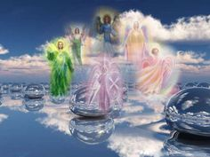 The Ascended Masters are working alongside and collaborating with the Galactic Federation of Light. Who are the Ascended Masters? The Ascended Masters are actually living,. Reiki Angelico, Celestial, 7 Archangels, Angel Protector, I Believe In Angels, Ascended Masters, Angels Among Us, Angels In Heaven, Guardian Angels