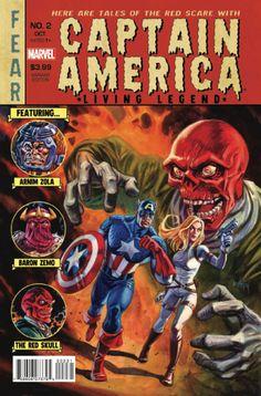 Captain America: Living Legend # 2 (Variant) by Dan Brereton