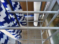 Indoor Outdoor Rug Rack Main Top View