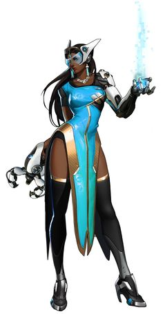 Symmetra from Overwatch
