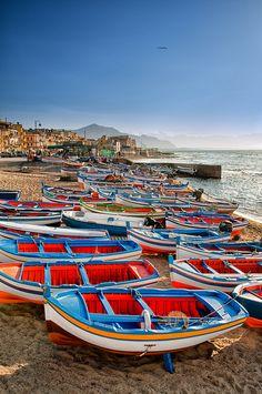 Aspra is a beautiful seaside village east of Palermo