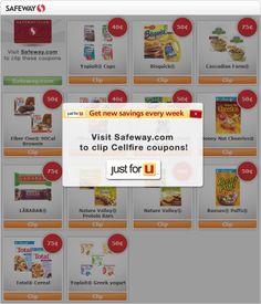 CellFire - a grocery couponing tool. Grocery Coupons