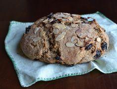 Cherry Almond Soda Bread (Vegan)