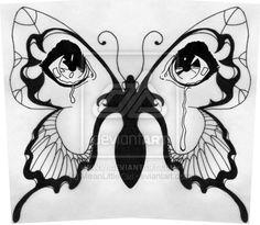 Butterfly-Crying Eyes Tattoo by ~MeanLittleGirl on deviantART Trendy Tattoos, Popular Tattoos, Unique Tattoos, Cute Tattoos, Girl Tattoos, Tattoo Girls, Butterfly Wing Tattoo, Butterfly Art, Crying Eyes