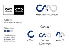 Creative Mediation Logo Design on Behance