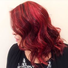 Red Velvet  by @mitchelldoesstuff #red #redhair #hair #haircolour #haircut #hairdo #redhead #ginger #hairstyle #hairsalon #yeg #yegdt #yeghair #yeghairsalon #yeghairstylist #aveda #fashion #style #redpigment #yegsalon #beaute #beautiful #perfect #latergram #alberta #curls #wavyhair