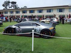 Lamborghini Aventador Race Car