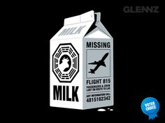 MISSING  Some guy called Desmond told me about a missing plane he once saw on the side of a milk carton.