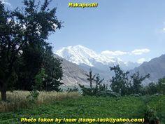 Rakaposhi from Hunza Village through the eyes of inam