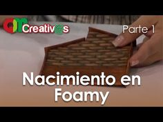DIY Foamy 3D [ EVA / Microporoso Cotillón - Fofucha / Party favors ] by Mónica Villegas - YouTube