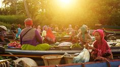 """""""""""Budaya Pariwisata Pasar Terapung Lokbaintan yg terletak di kabupaten #banjar ini dari sisi lain adalah adanya tali silaturahmi yg tak pernah putus kepada…"""""""