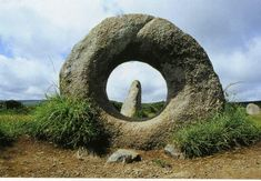 A view of the Men-an-Tol.
